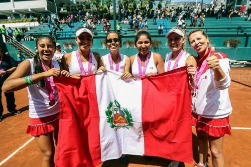 La selección peruana de tenis femenina enfrentará a Argentina, Chile y México en la Fed Cup