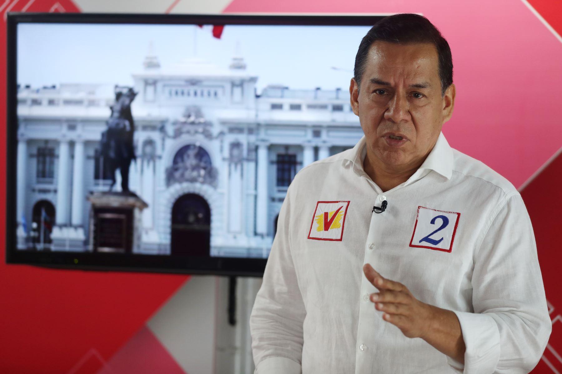 José Vega Antonio propone castigos severos para corruptos. ANDINA/Melina Mejía