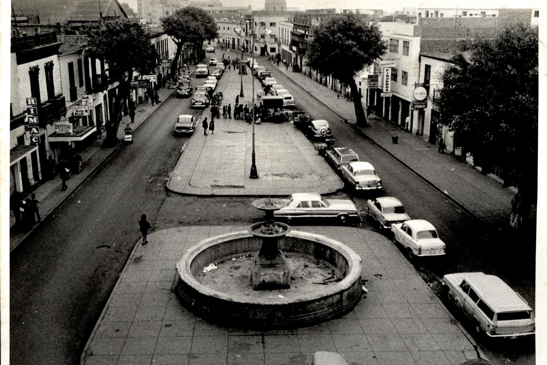 Plazuela de Buenos Aires. Foto: ANDINA/archivo