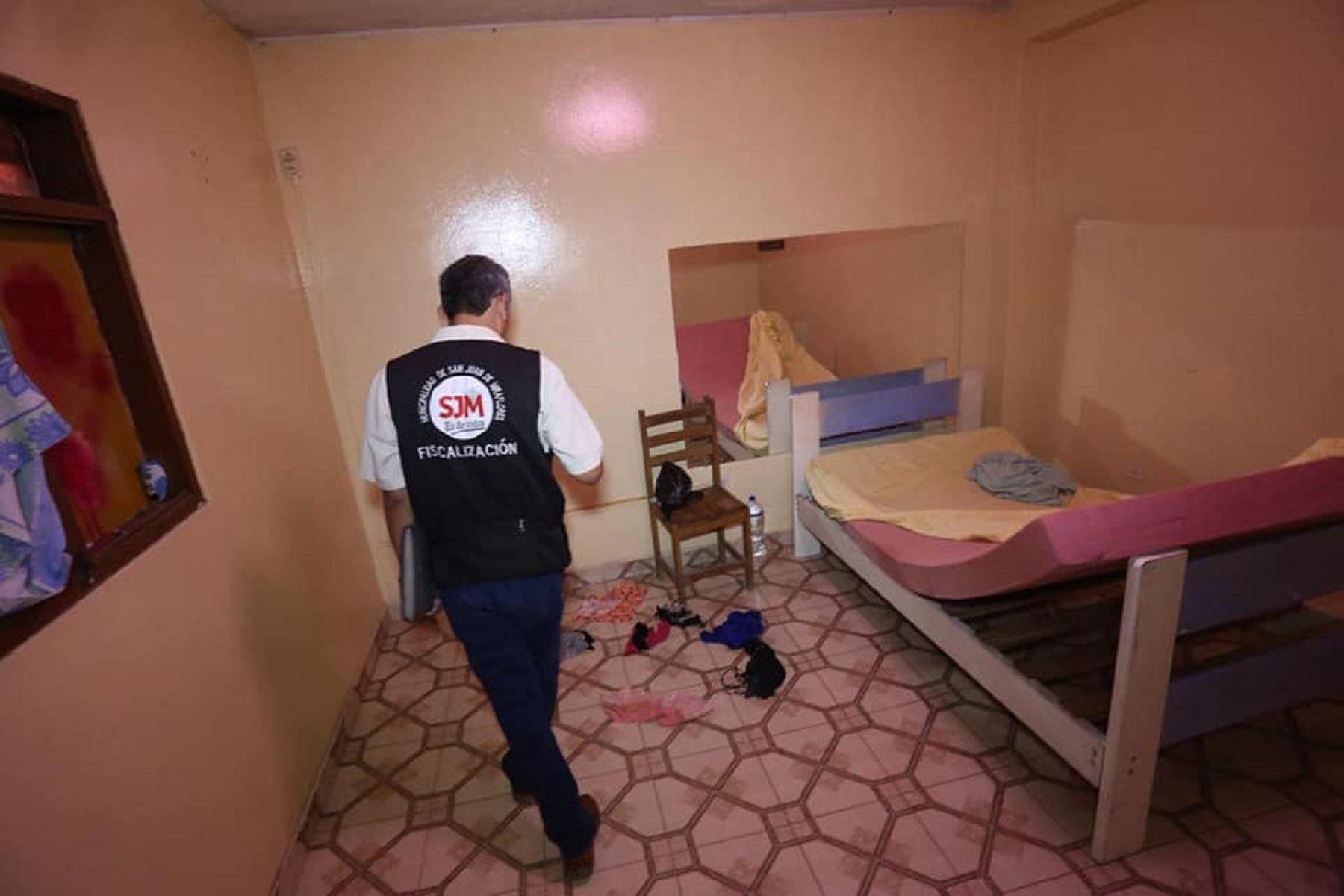 Clausuran más de 500 hostales en San Juan de Miraflores Foto. Difusión