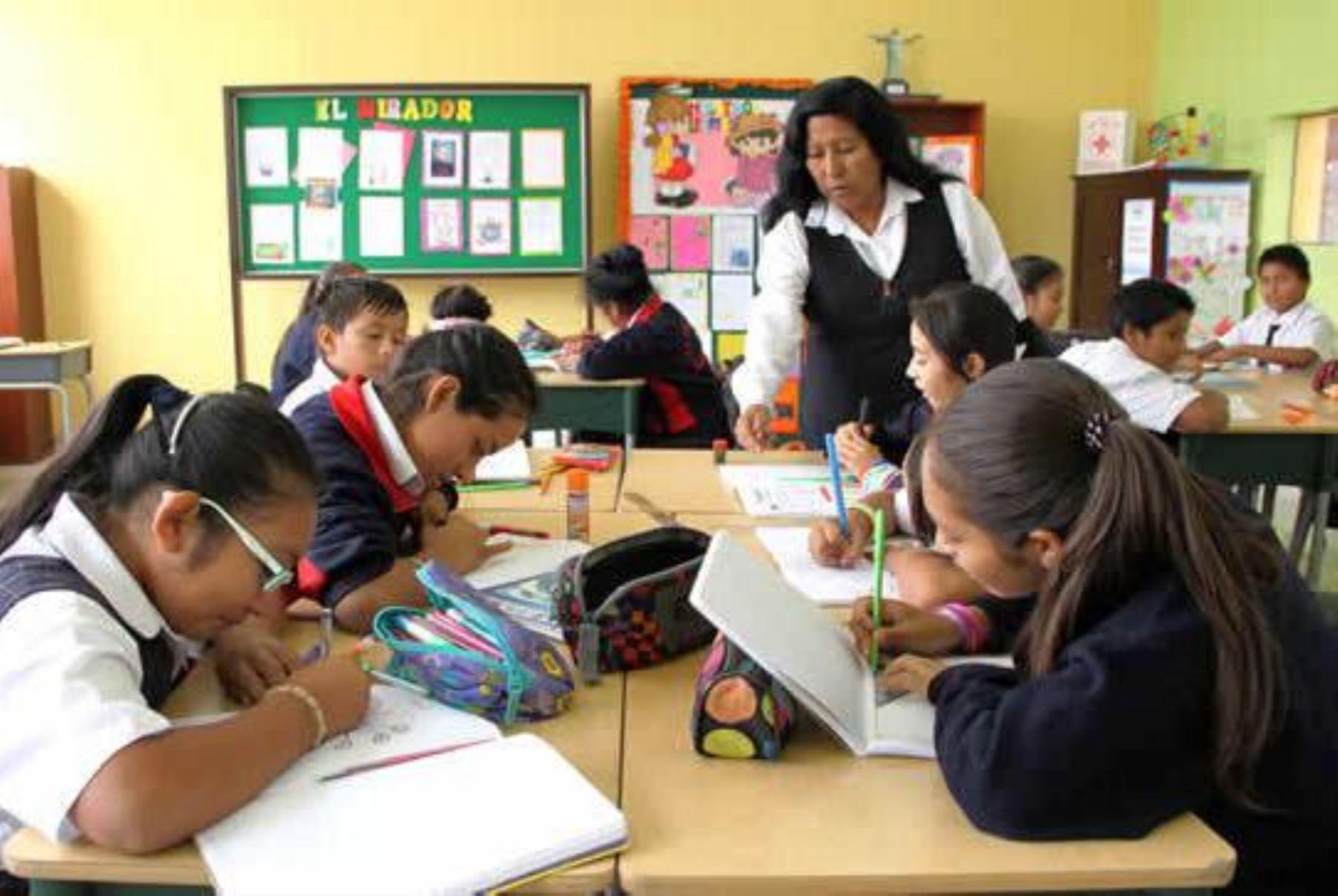 Minedu: colegios privados no deberían despedir a docentes por decreto de urgencia. Foto: ANDINA/difusión.