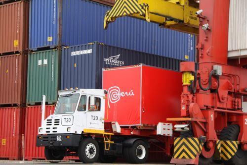 Exportaciones peruanas.