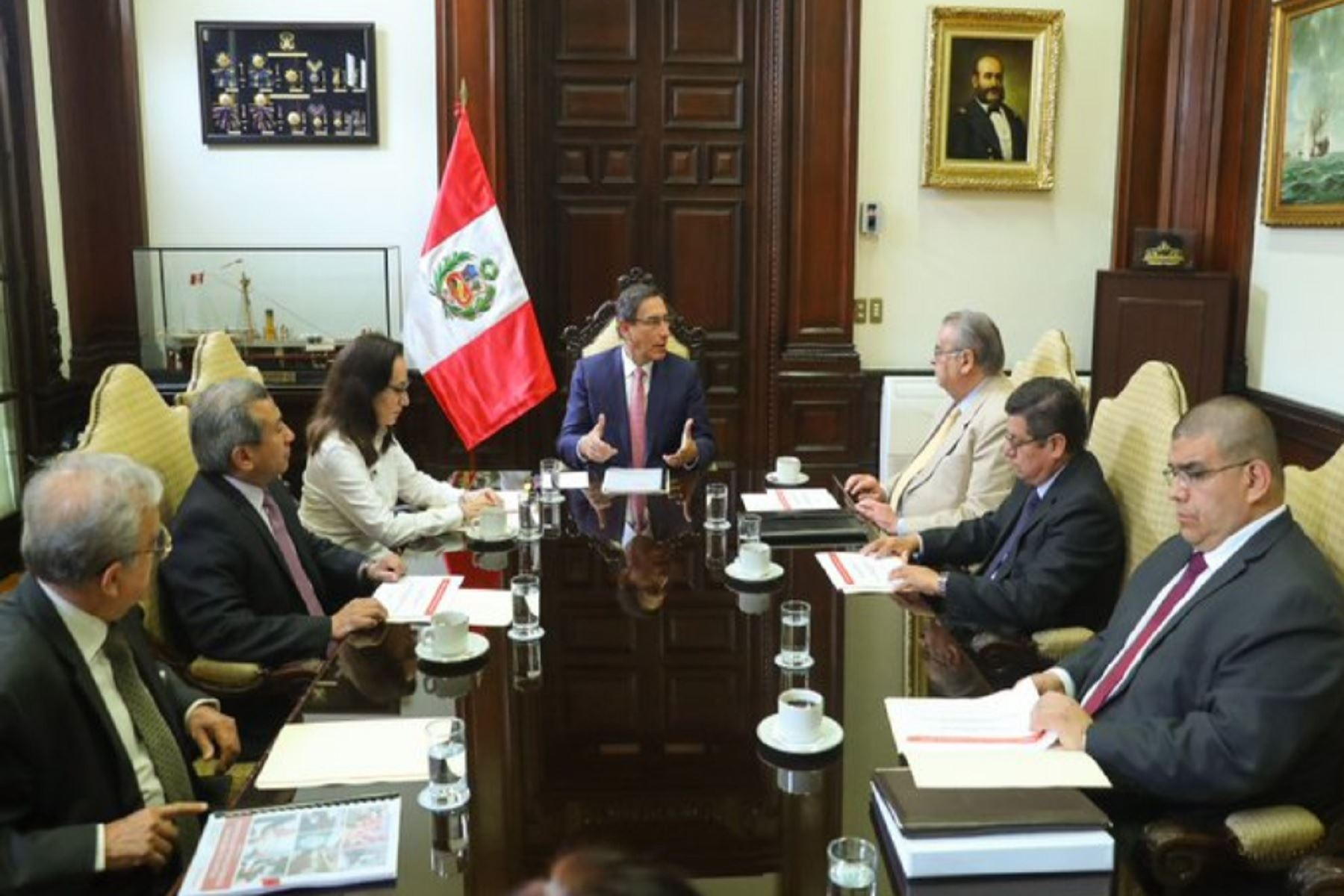 Presidente Vizcarra se reunió con Comisión de Reforma del Sistema de Justicia