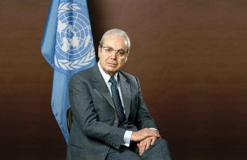 Javier Pérez de Cuéllar es el diplomático más ilustre en toda la historia del Perú. ANDINA