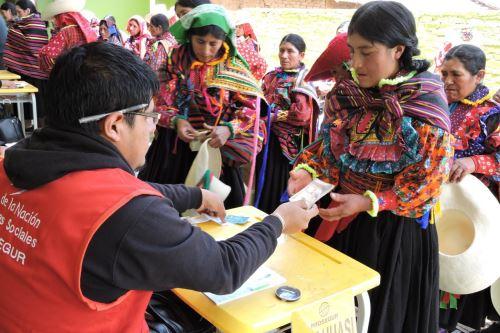 El programa Juntos del Midis abonará el primer pago de este año a 83,183 familias de las zonas más pobres y alejadas del país.