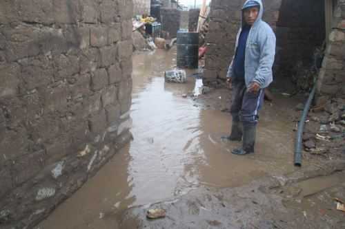Lluvias y granizada afectan a unas 50 viviendas en provincia de Caylloma, en Arequipa.