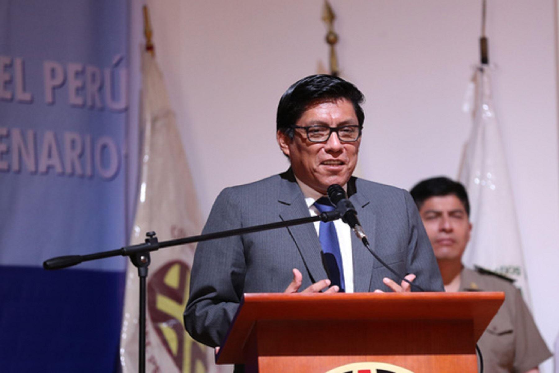 Titular del Consejo de Ministros, Vicente Zeballos. Foto: Difusión.