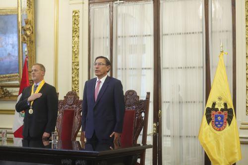 Presidente Vizcarra participa en sesión solemne por el 485 aniversario de la fundación de Lima