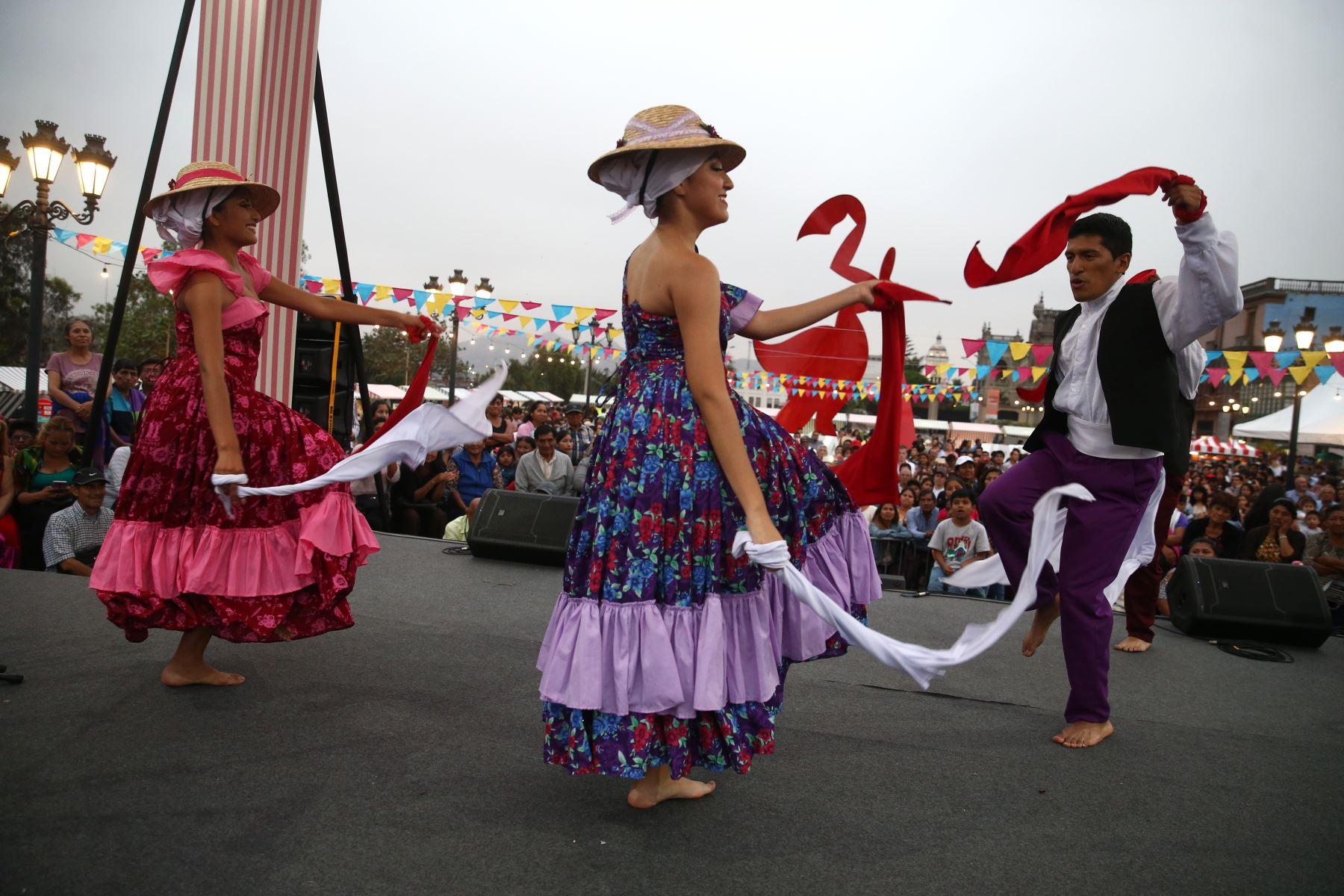 Actividades por la celebración del 485 aniversario de la ciudad de Lima. Foto: ANDINA/Vidal Tarqui