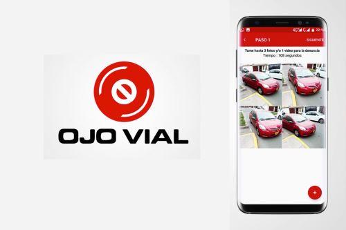 Los ciudadanos pueden denunciar infracciones de tránsito, como vehículos mal estacionados, en tiempo real con la aplicación Ojo Vial.
