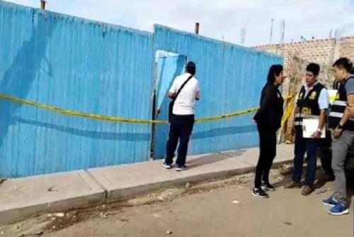 El hecho de sangre se produjo en el interior de la vivienda de la pareja ubicada en la urbanización de Villa Jerusalén, en el centro poblado de Chen Chen, provincia moqueguana de Mariscal Nieto, en la región Moquegua. Internet/Medios