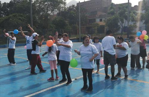 Talleres de verano para  personas con discapacidad. Foto: Andina/difusión