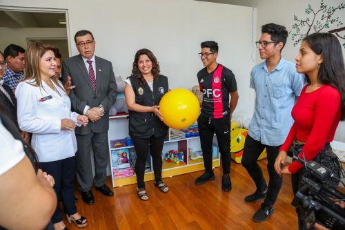 Carmen de la Legua Reynoso ya cuenta con un centro de salud mental comunitario Foto: Minsa