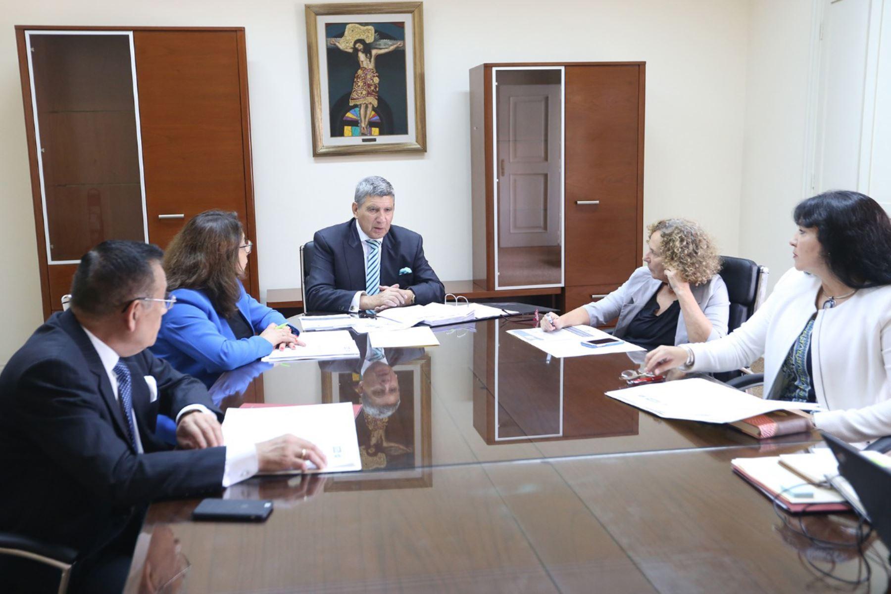 Miembros del Tribunal de Honor del Pacto Ético Electoral. ANDINA/Difusión