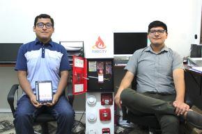 Emprendimiento peruano busca mejorar los sistemas contra incendios con ayuda de la nube y una aplicación móvil. Foto: Harold Moreno.
