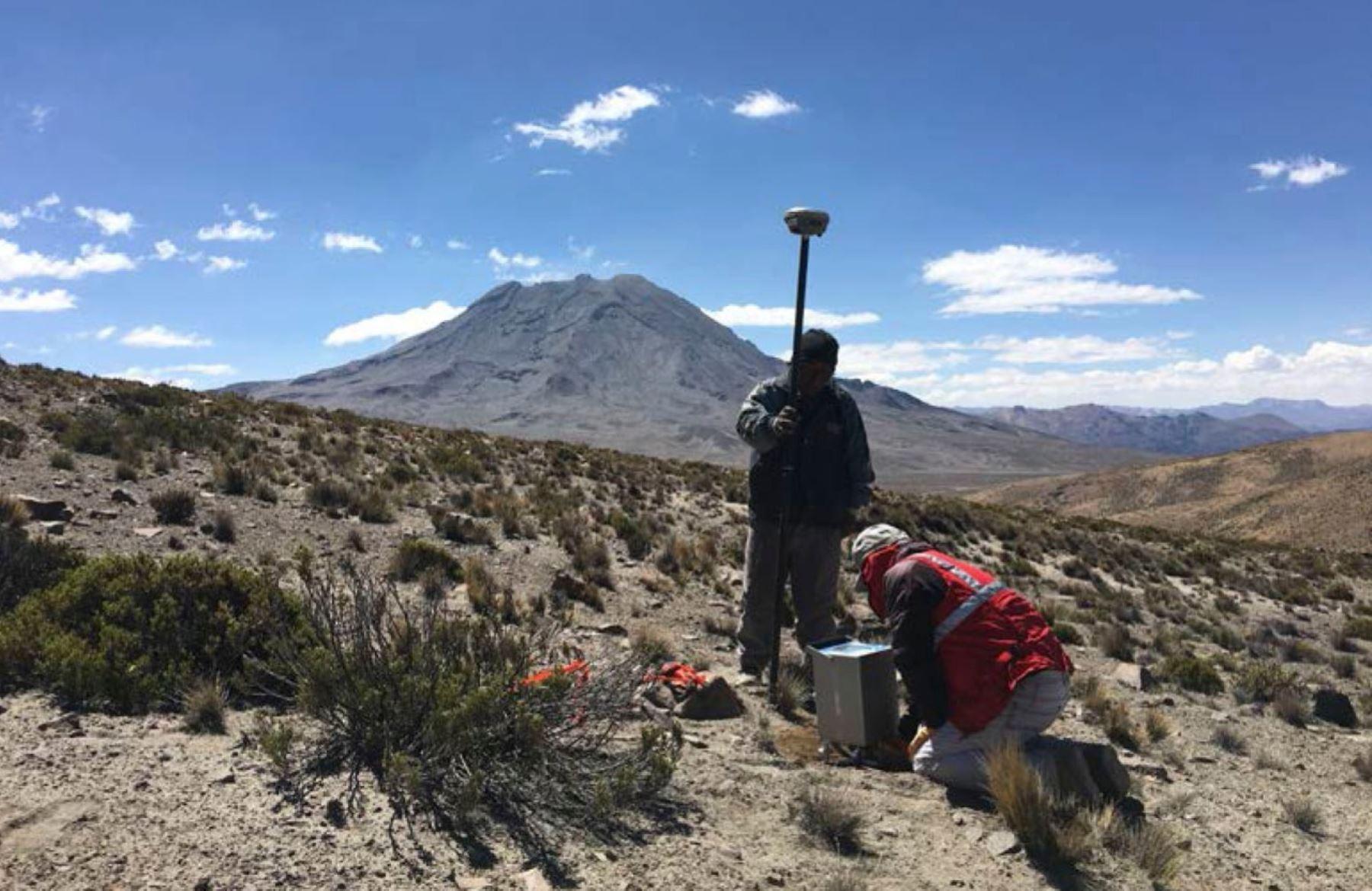Ingemmet resalta el potencial de la región Moquegua para generar energía limpia gracias a sus recursos geotérmicos. ANDINA/Difusión