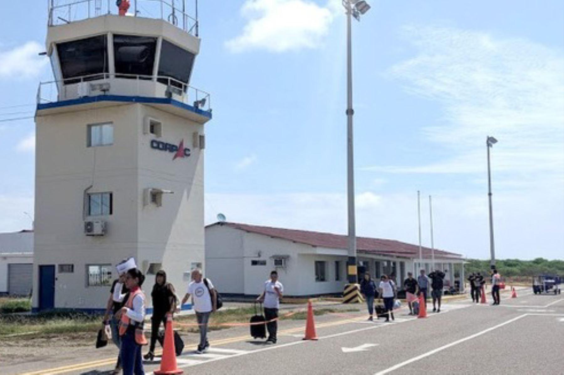 La Corporación Peruana de Aeropuertos y Aviación Comercial (Corpac) gestionó 768 operaciones de aterrizaje y despegue de aeronaves en el norte peruano, del 16 de marzo al 15 de mayo de 2020, periodo que corresponde a la actual emergencia sanitaria por la pandemia del covid-19.