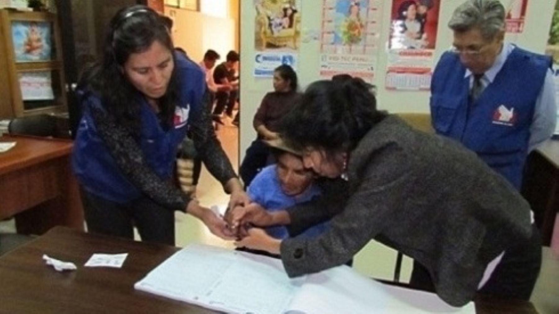 Poblaciones vulnerables tienen derecho al voto. Foto: ANDINA/Difusión