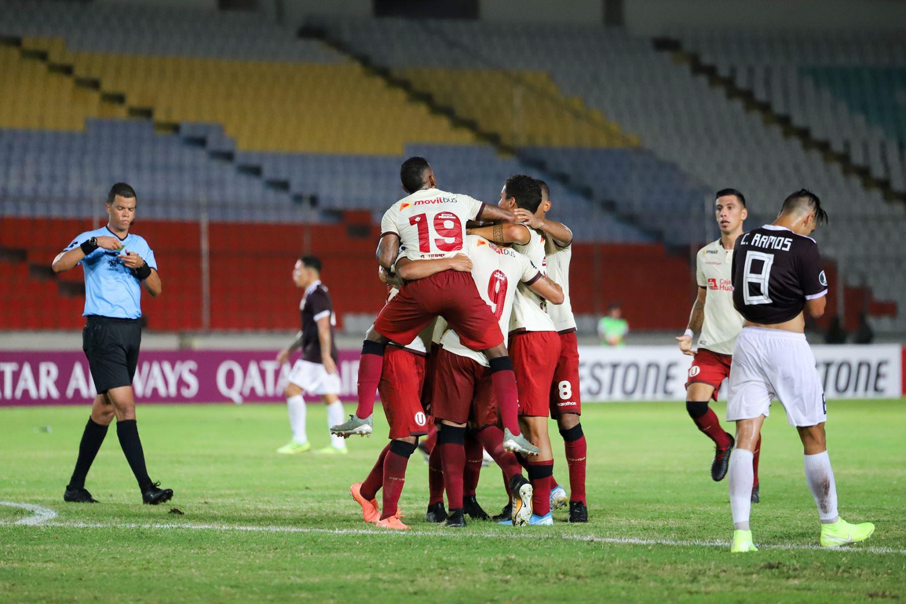 Universitario igualó 1-1 con Carabobo en Venezuela por la Libertadores. Foto: Club Universitario