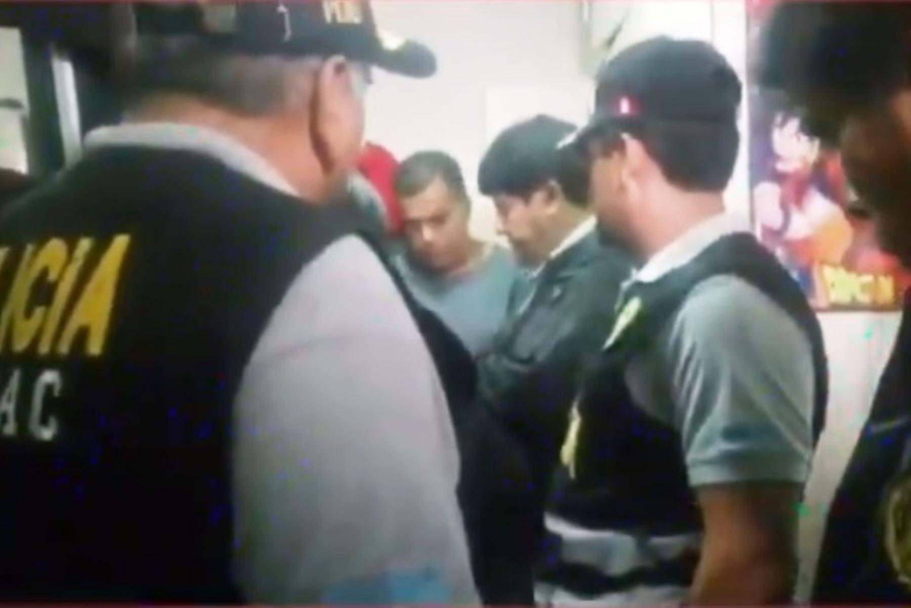 Policía desarticula organización criminal los Reyes de los Cheques. Foto: ANDINA/capturaTV.