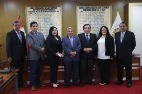 Se instaló comisión que organizará celebración por 469 años de San Marcos. Foto:ANDINA/Eddy Ramos