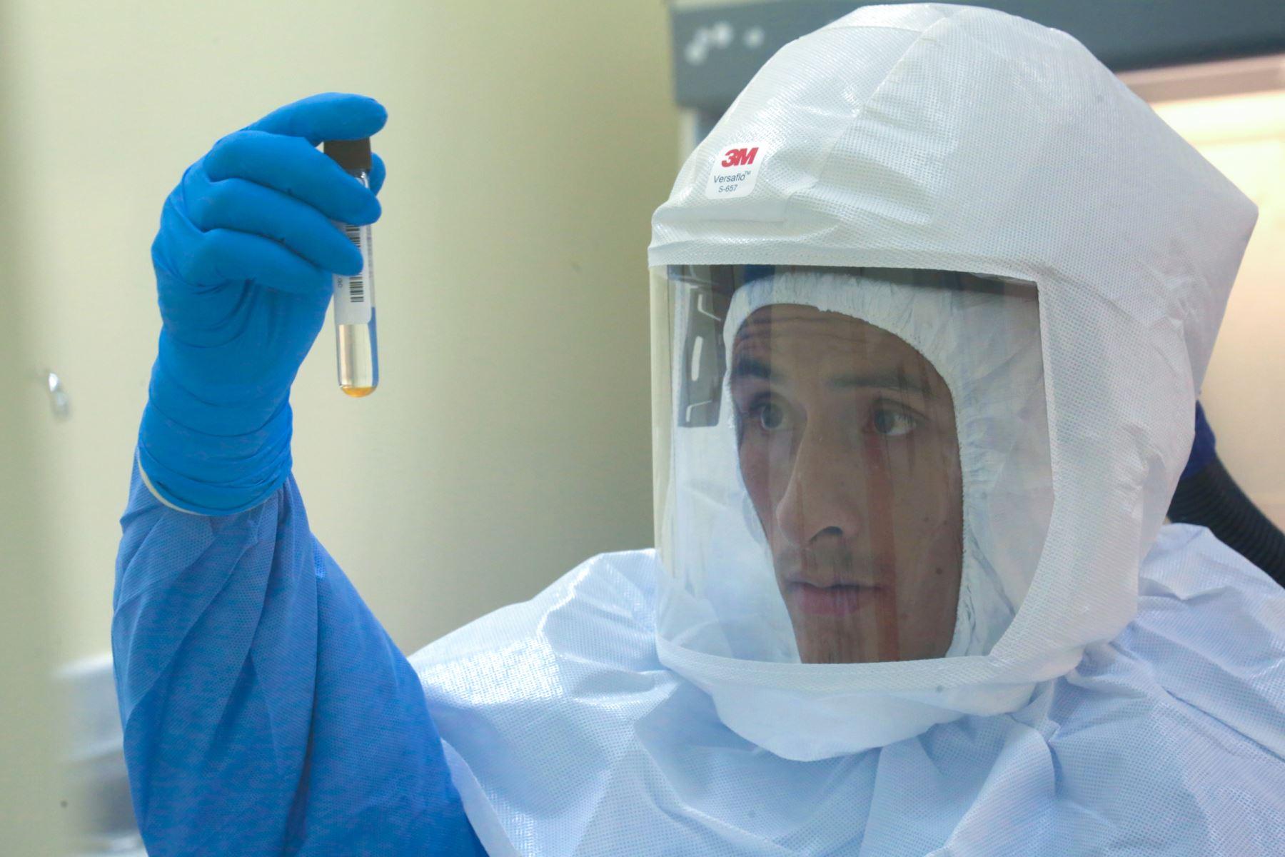 Ministerio de Salud (Minsa), a través del Instituto Nacional de Salud (INS), está preparado para implementar diagnóstico  del nuevo coronavirus que se propaga en China. Foto: Difusión Ministerio de Salud