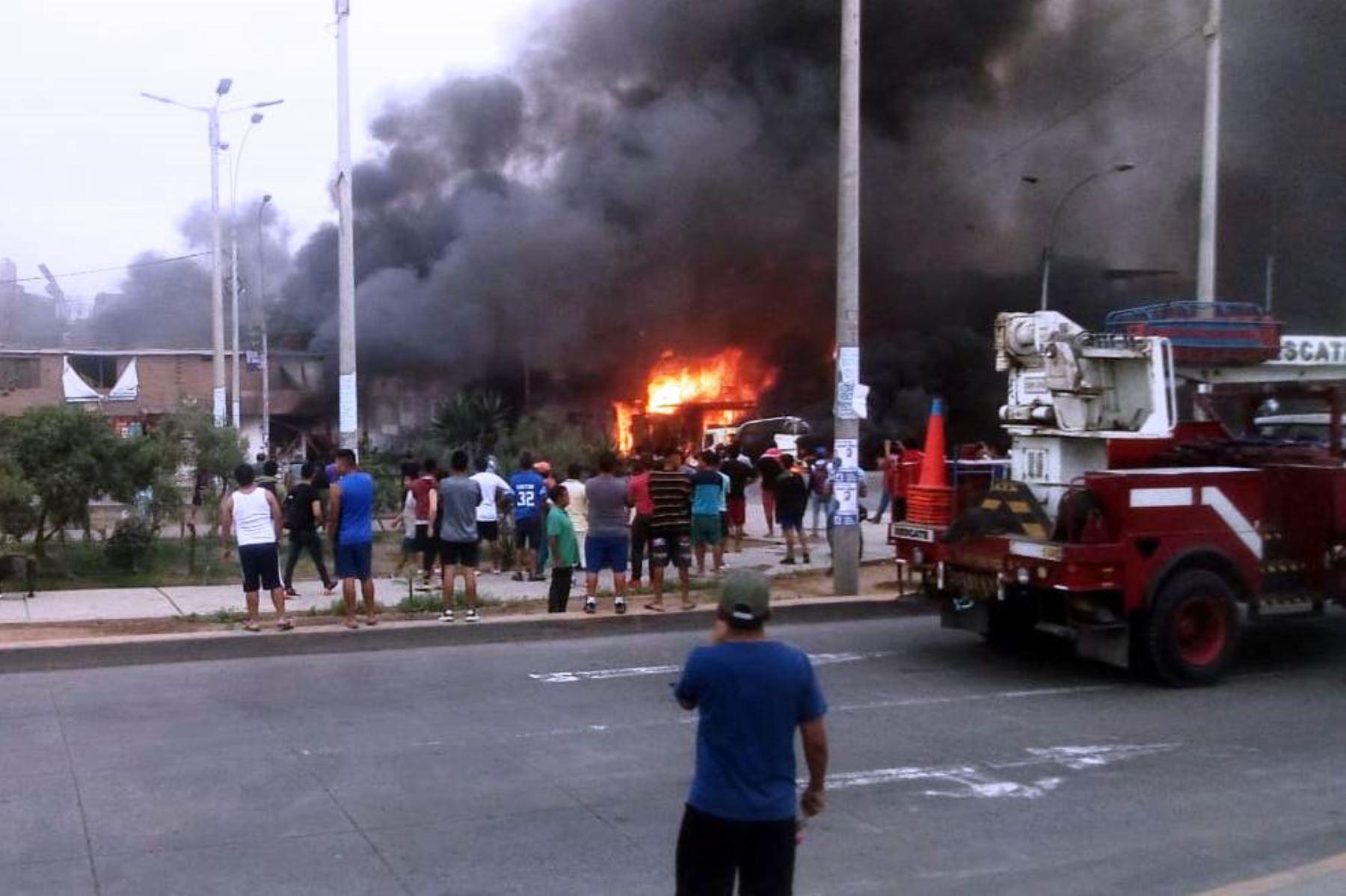 Villa El Salvador: sube a cuatro la cifra de fallecidos por explosión