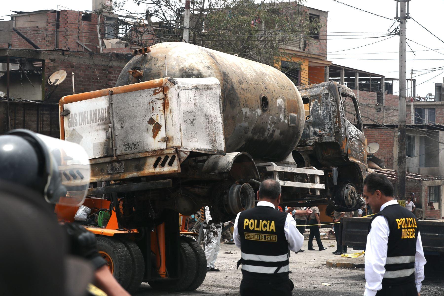 Villa El Salvador: detienen a conductor de camión siniestrado. Foto: ANDINA/Melina Mejía.