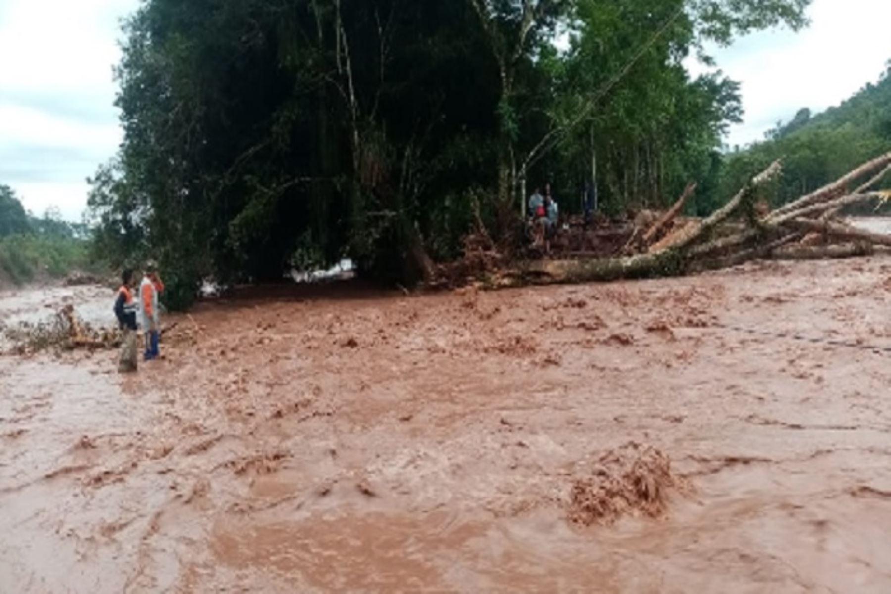 San Martín registró nuevo récord de lluvia al acumular 152,5 milímetros en 24 horas