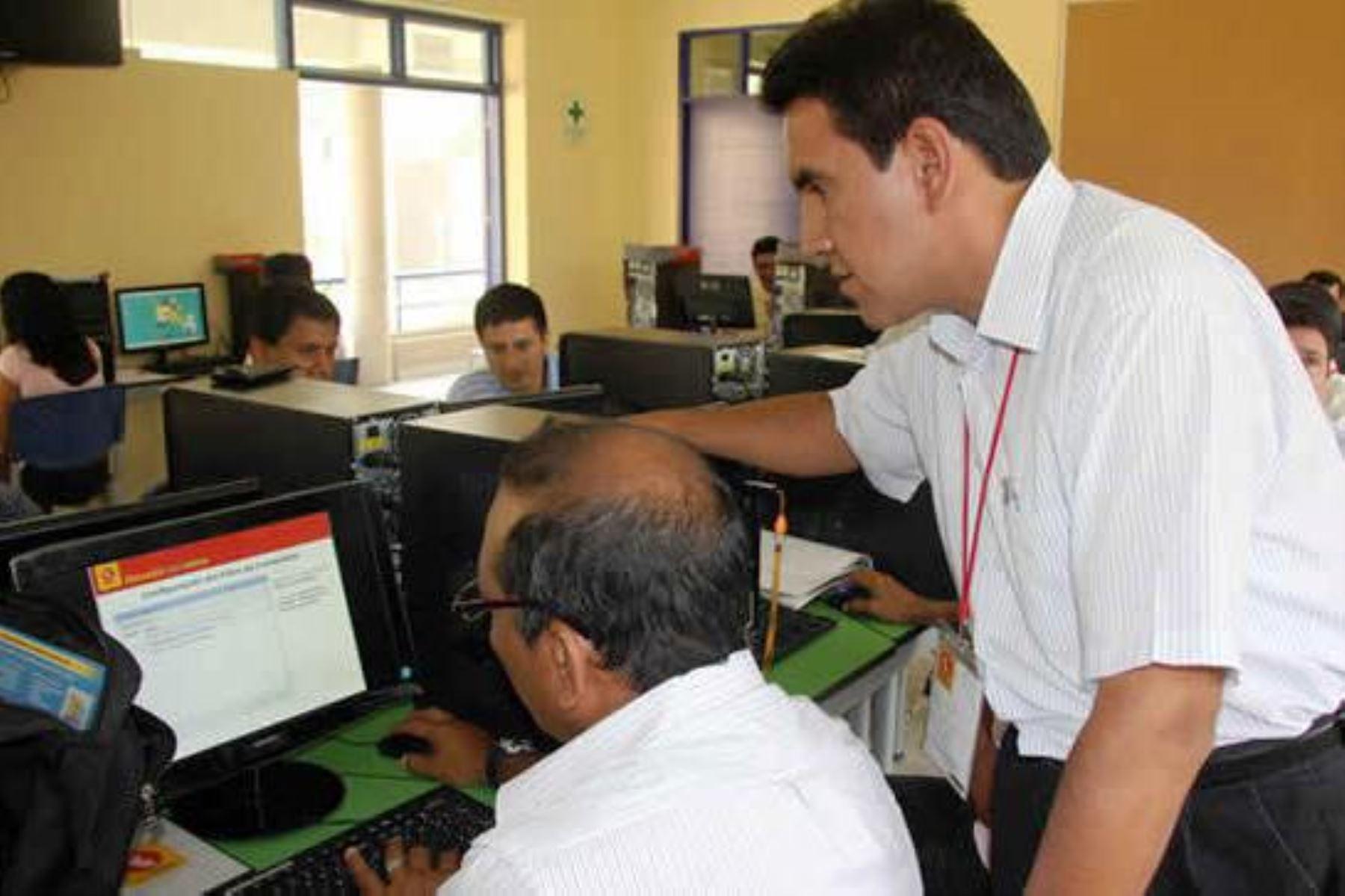 Minedu inicia este lunes ciclo virtual de capacitación docente a nivel nacional. Foto: ANDINA/Difusión.