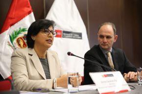Ministra de Trabajo y Promoción del Empleo, Sylvia Cáceres. Foto: Cortesía.