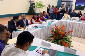La ministra de Educación, Flor Pablo, invocó el compromiso de todos para garantizar que las clases escolares se inicien de la mejor manera el 16 de marzo.