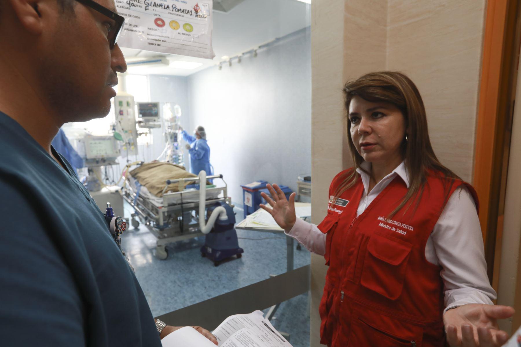 Ministerio de Salud aplicó plan de contingencia inmediata y atendió 48 heridos del accidente en Villa El Salvador. Foto: Difusión Minsa
