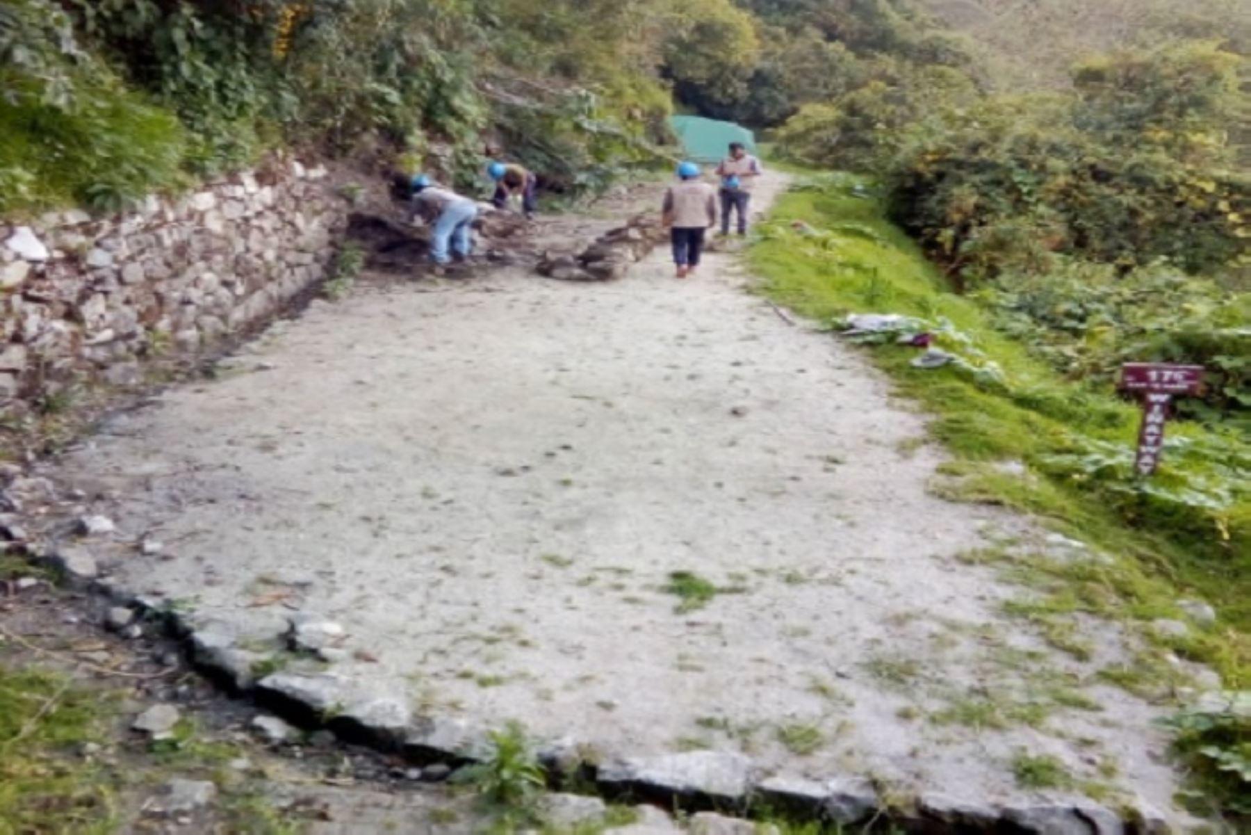 Un muerto y dos heridos por deslizamiento en camino Inca a Machu Picchu