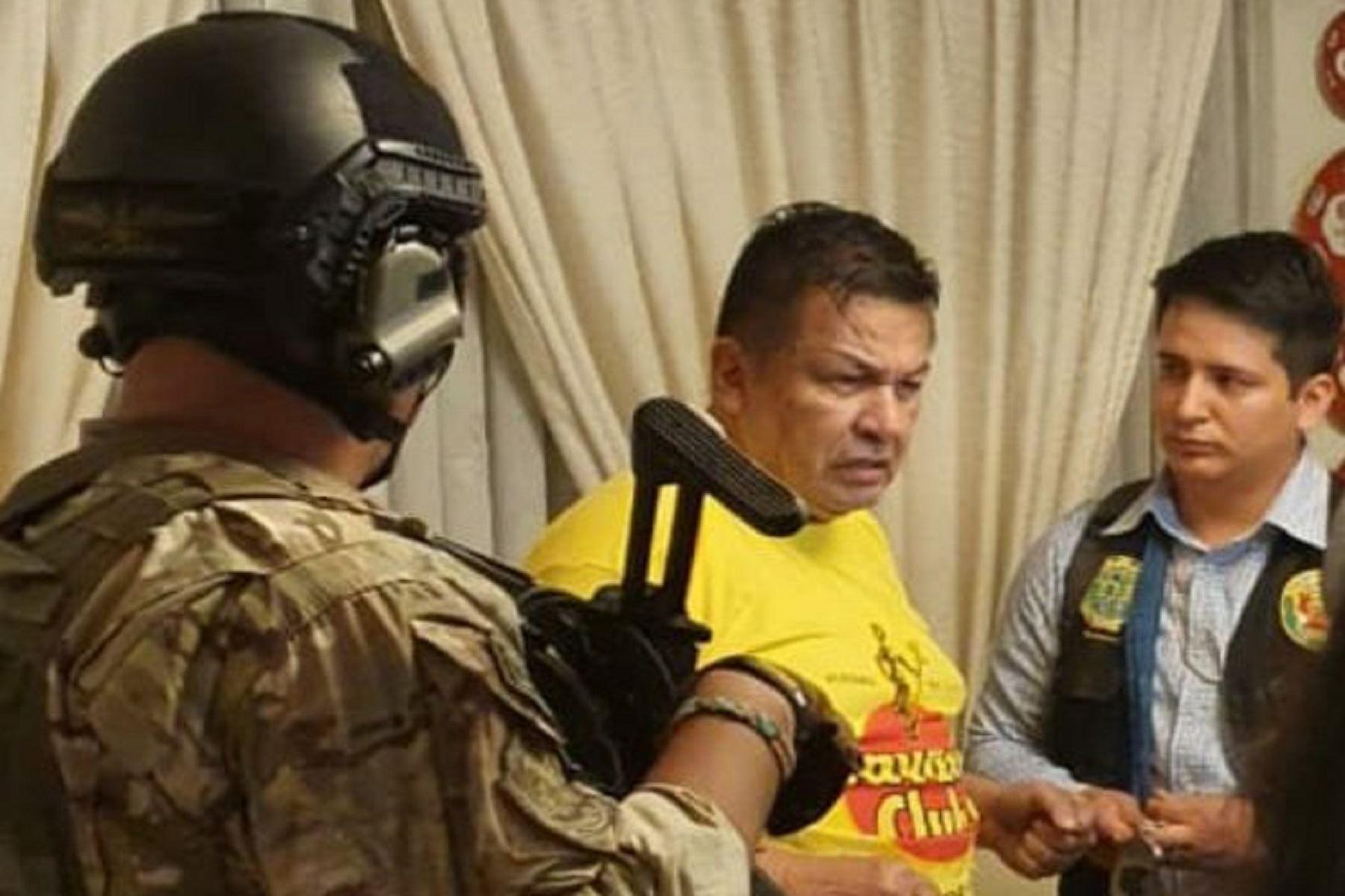 Detención de Juan Sotomayor. Foto: difusión.
