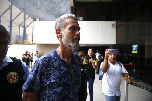 """Detienen a ex congresista Víctor Albrecht y otros implicados  por caso Eslimp """"Aportes fantasmas"""""""