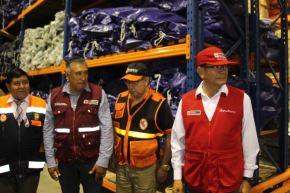 El ministro de Agricultura y Riego, Jorge Montenegro, llegó a Tacna para coordinar con las autoridades regionales y municipales, la atención de las diversas emergencias que se presentan por las intensas lluvias.