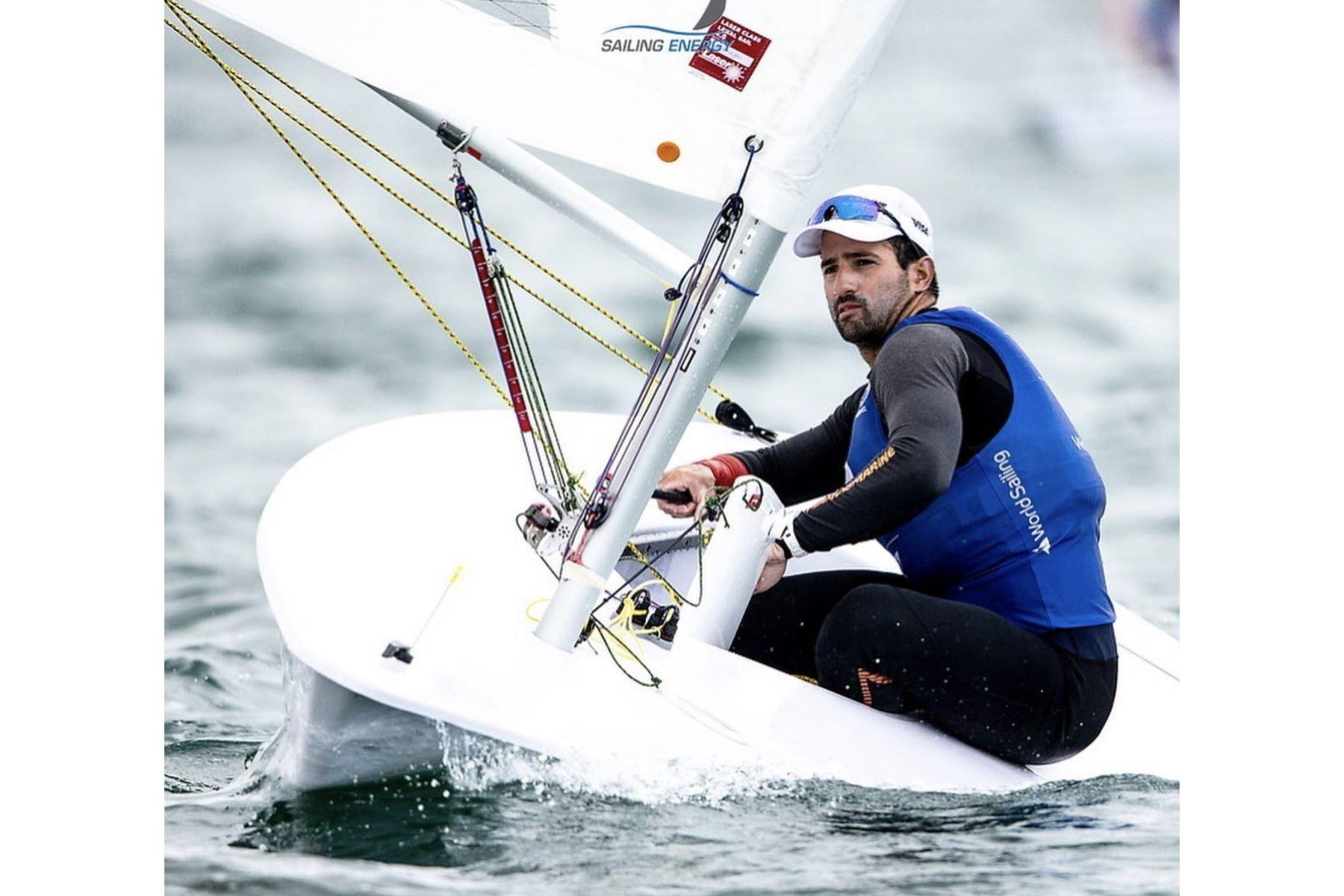 Velerista Stefano Peschiera gana medalla de oro en World Cup Series de Miami. Foto: Difusión