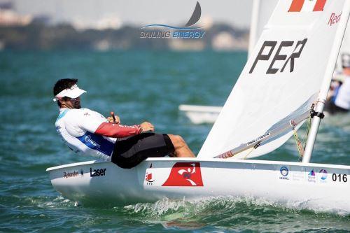 Velerista peruano Stefano Peschiera gana medalla de oro en World Cup Series de Miami