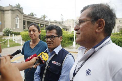 Ministerio de Salud: Conferencia de prensa sobre situación de heridos en la tragedia de Villa el Salvador