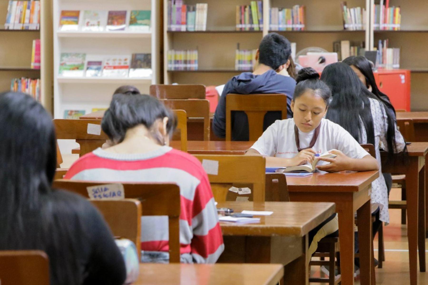 Gran Biblioteca Pública de Lima ofrecerá tutorías a estudiantes preuniversitarios. Foto: ANDINA/Difusión.