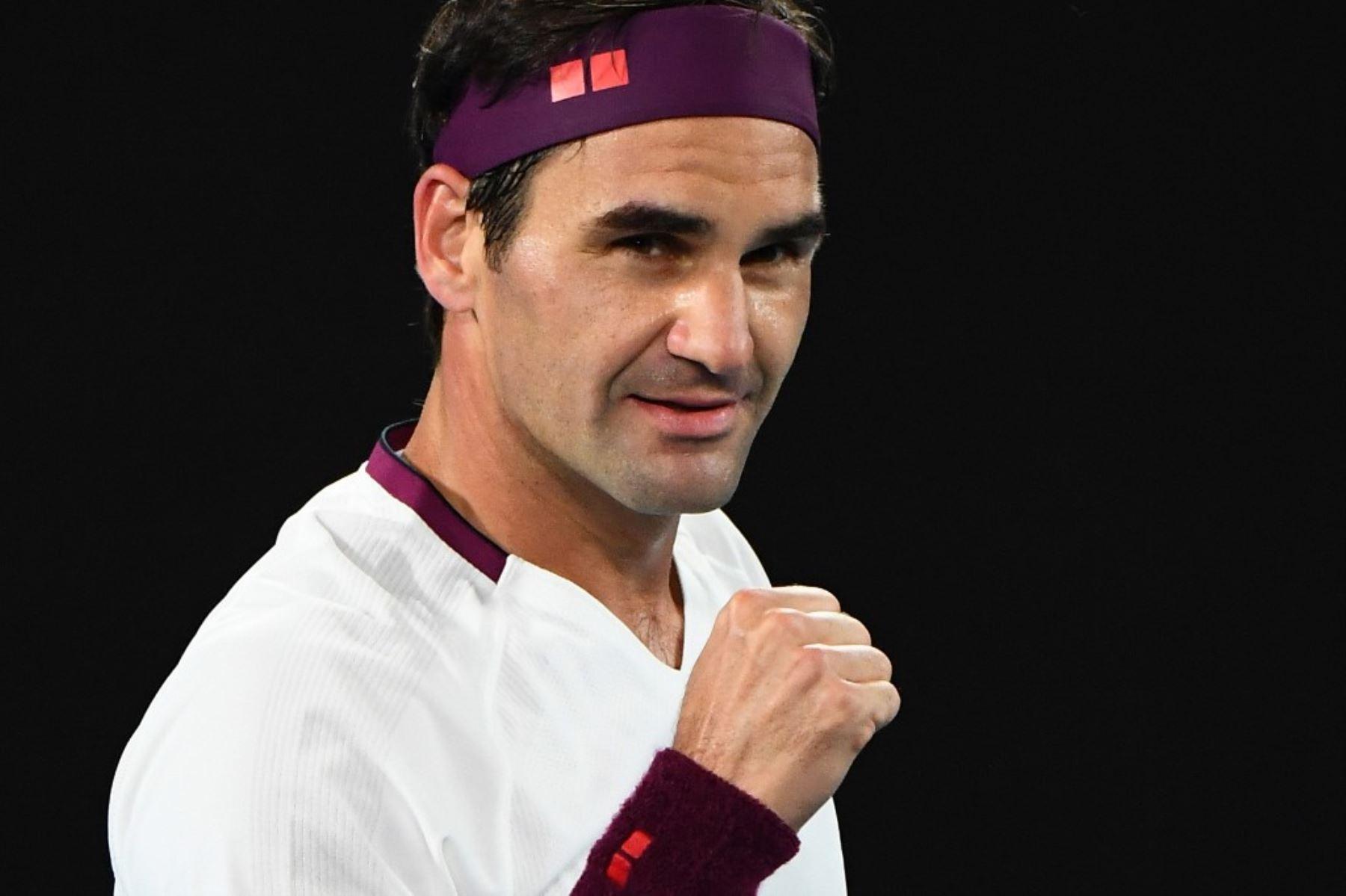 Federer avanza a los cuartos de final del Abierto de Australia