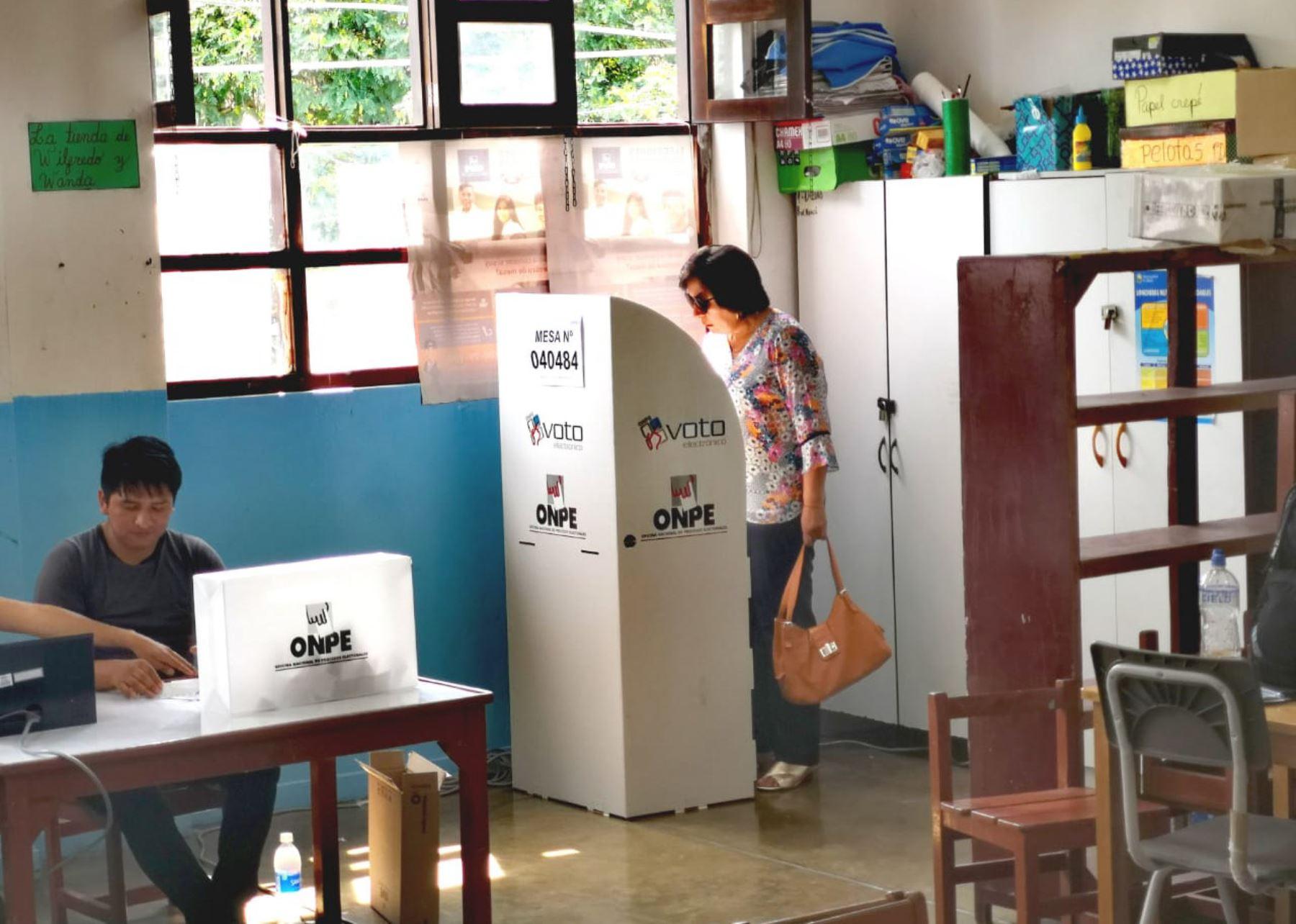 Resultado de imagen para elecciones congresales andina.pe