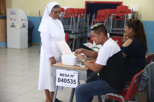 Elecciones 2020: Jornada electoral se desarrolló con normalidad