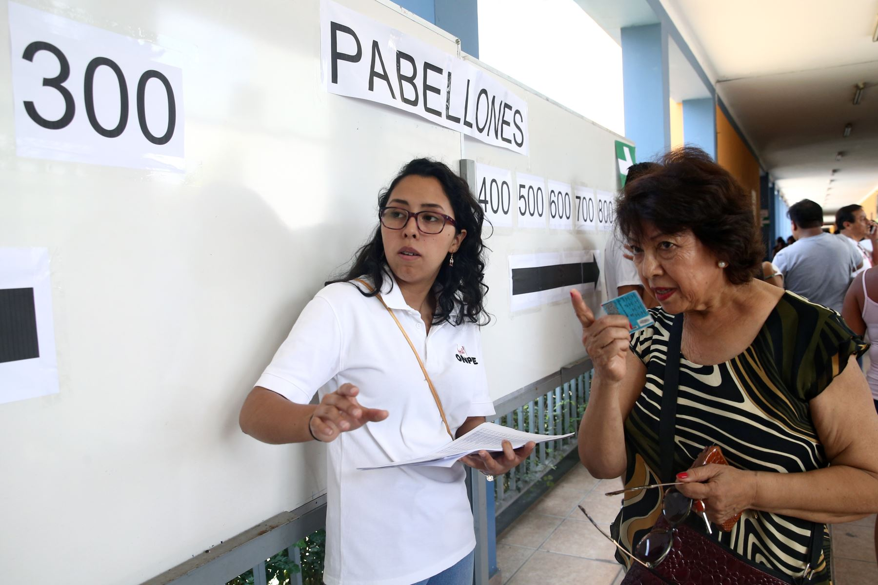 Elecciones congresales extraordinarias 2020. Foto: ANDINA/Vidal Tarqui