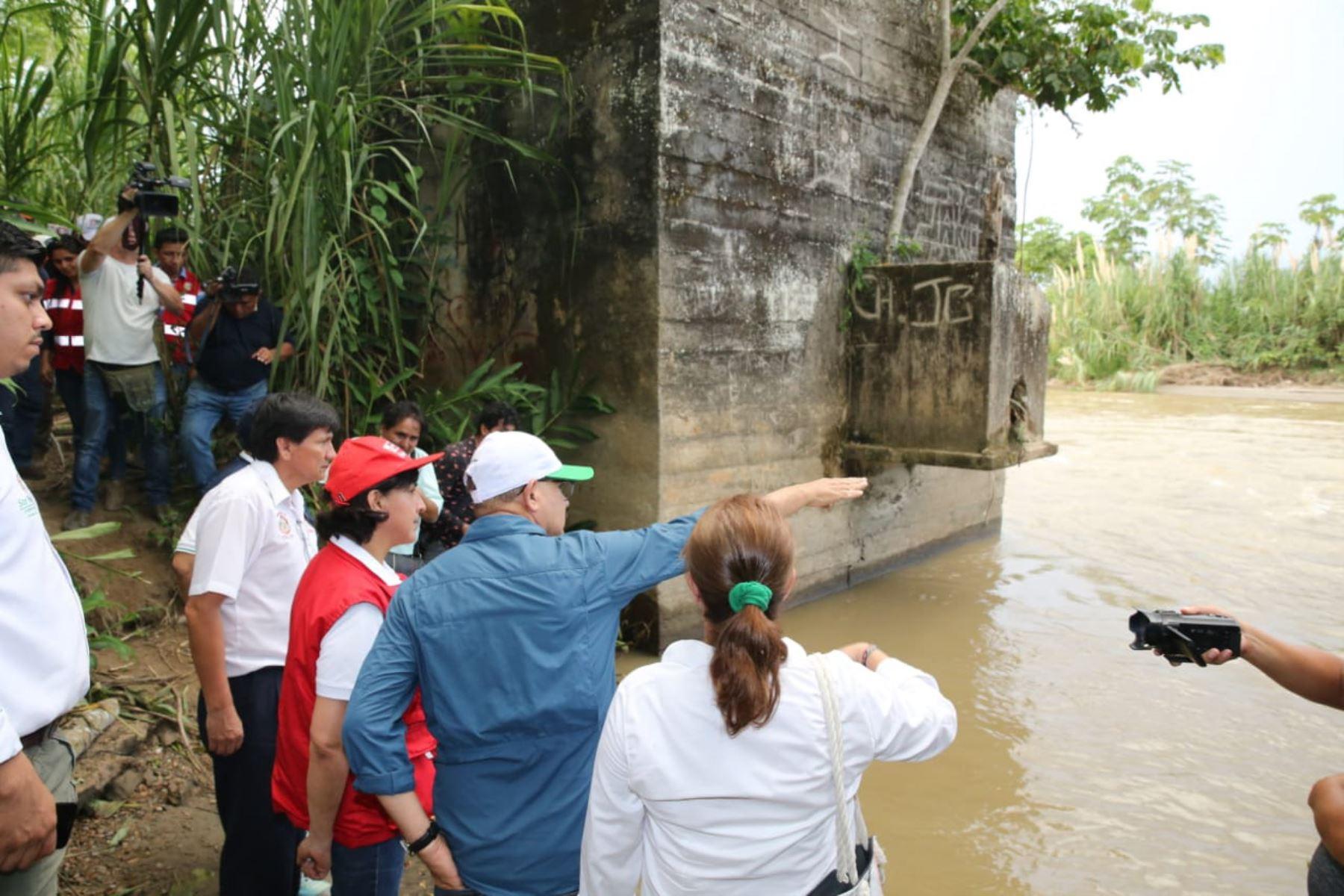 Gobierno despliega recursos para atender a los damnificados y afectados por las lluvias intensas en la región San Martín. ANDINA/Difusión
