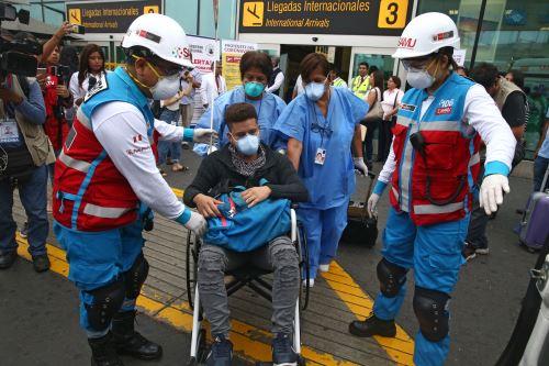 Coronavirus: Medidas preventivas en Aeropuerto Jorge Chavez