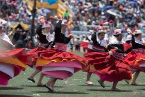 Puno espera visita de más de 60,000 turistas para celebrar la fiesta de la Virgen de la Candelaria. Foto: Karlo Pecchi-Federación Regional de Folklore y Cultura-Puno