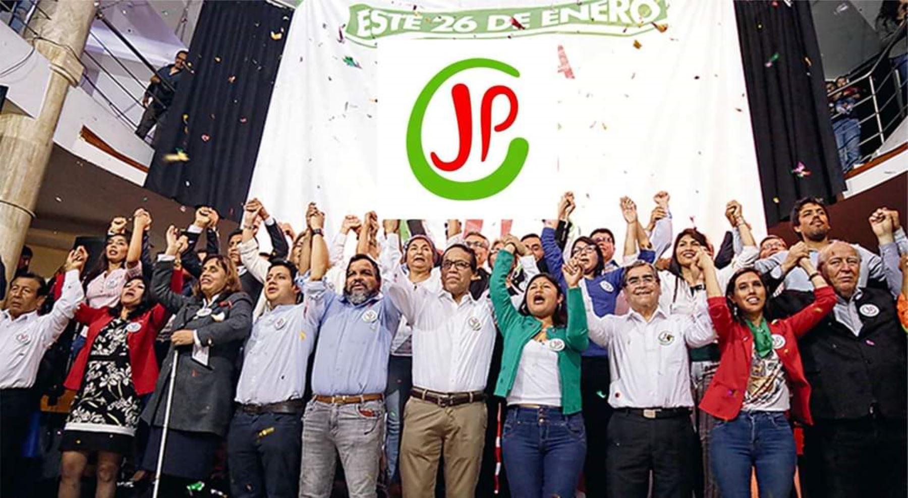 Juntos por el Perú no pasaría la valla electoral para alcanzar representación parlamentaria.