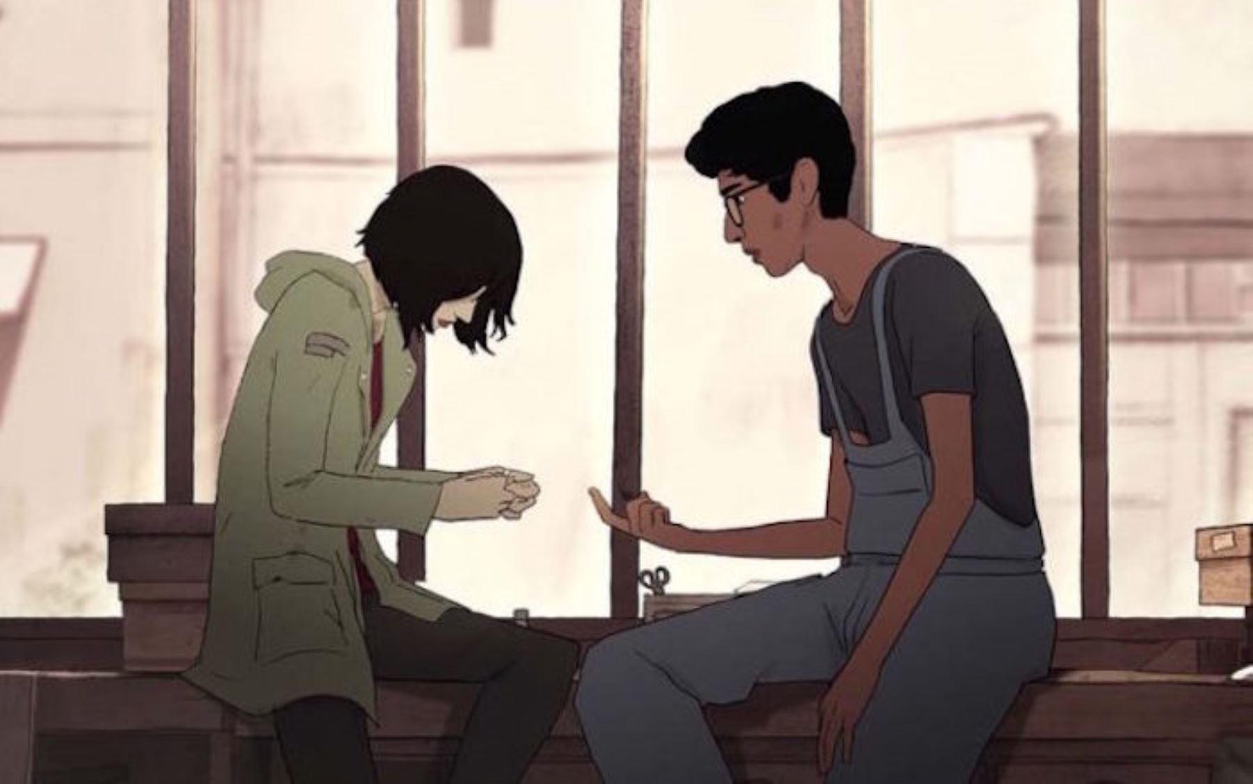 Escena de la película de animación francesa Perdí mi cuerpo.